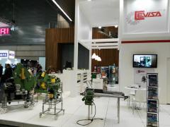 Schweisskantenfräse Cevisa - Messe BIEMH 2016 (Bilbao)