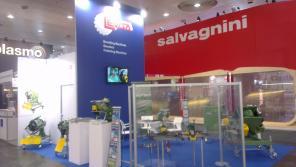 Schweisskantenfräse Cevisa - Messe EUROBLECH 2014