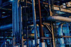 Petrochemie und Nuklearindustrie